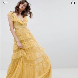 Needle & Thread Sequin Tiered Dress